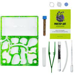 """Комплект муравьиной фермы Премиум """"Зеленый лист"""""""